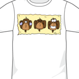 Three-mokeys-tee